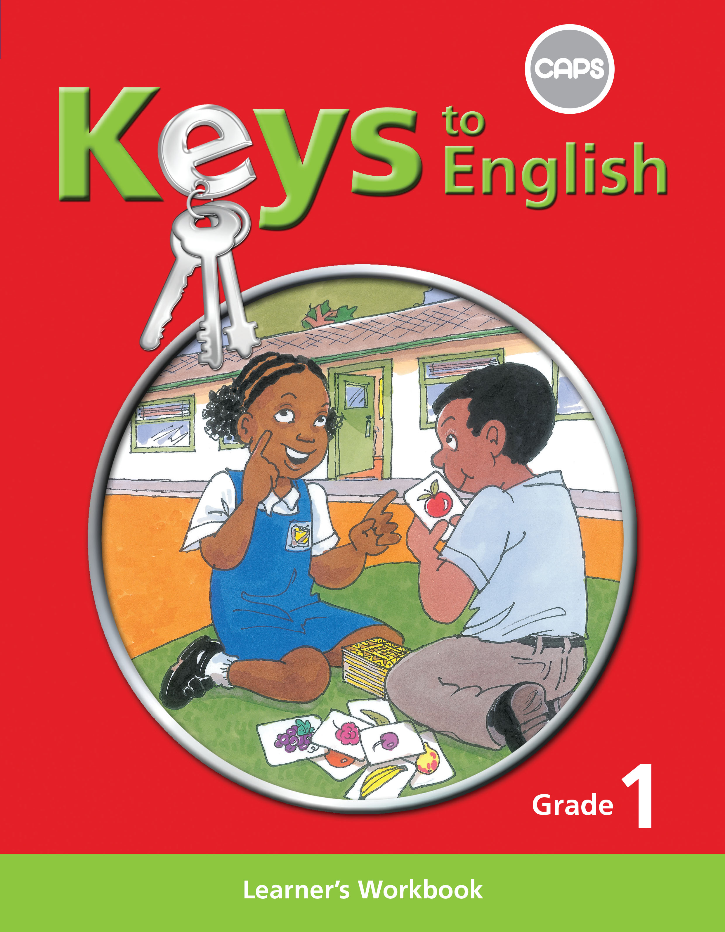 Picture of Keys to English: Keys to English First Additional Language: Grade 1: Learner Workbook Gr 1: Learner's Workbook