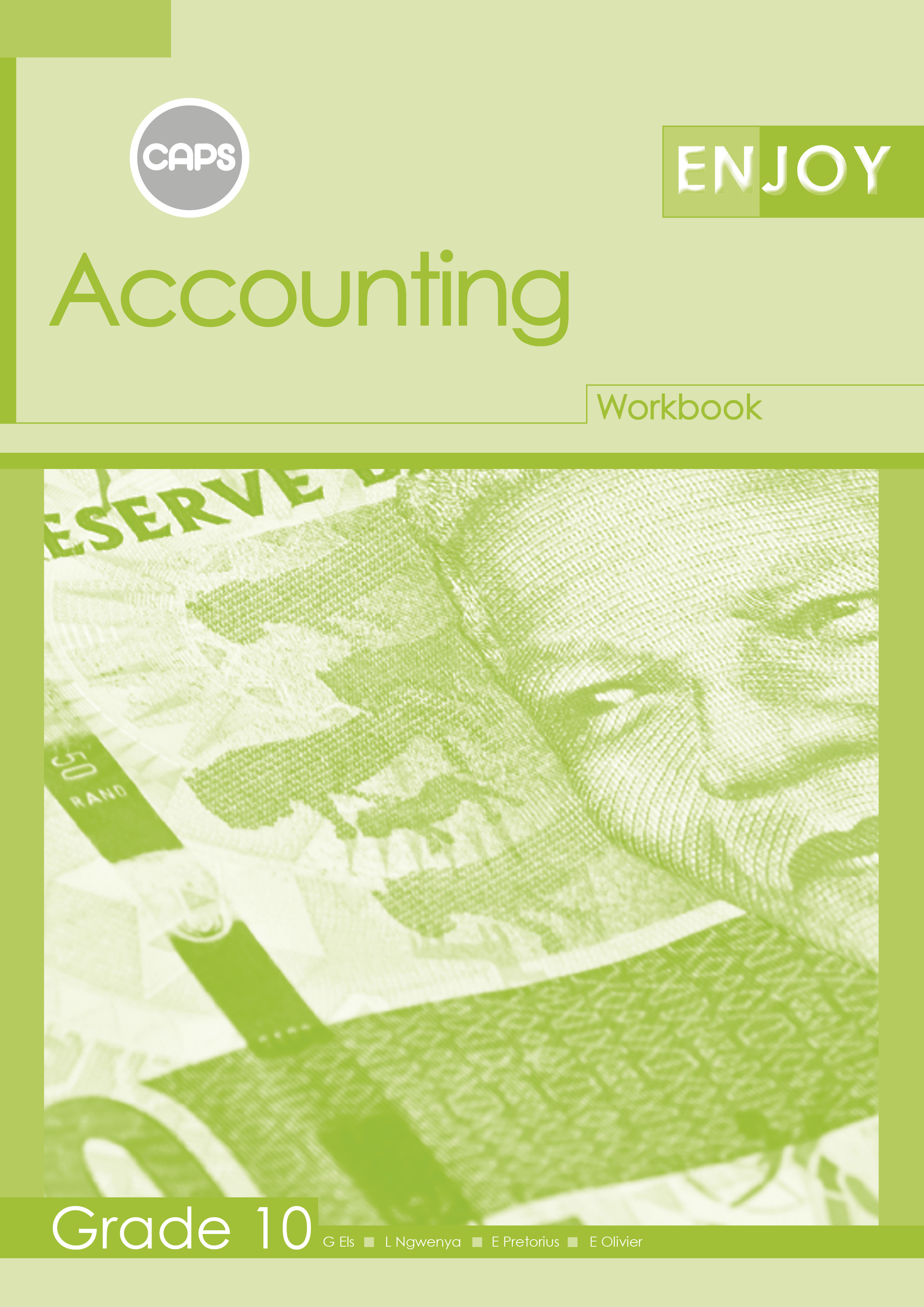 Picture of Enjoy Accounting: Grade 10: Workbook