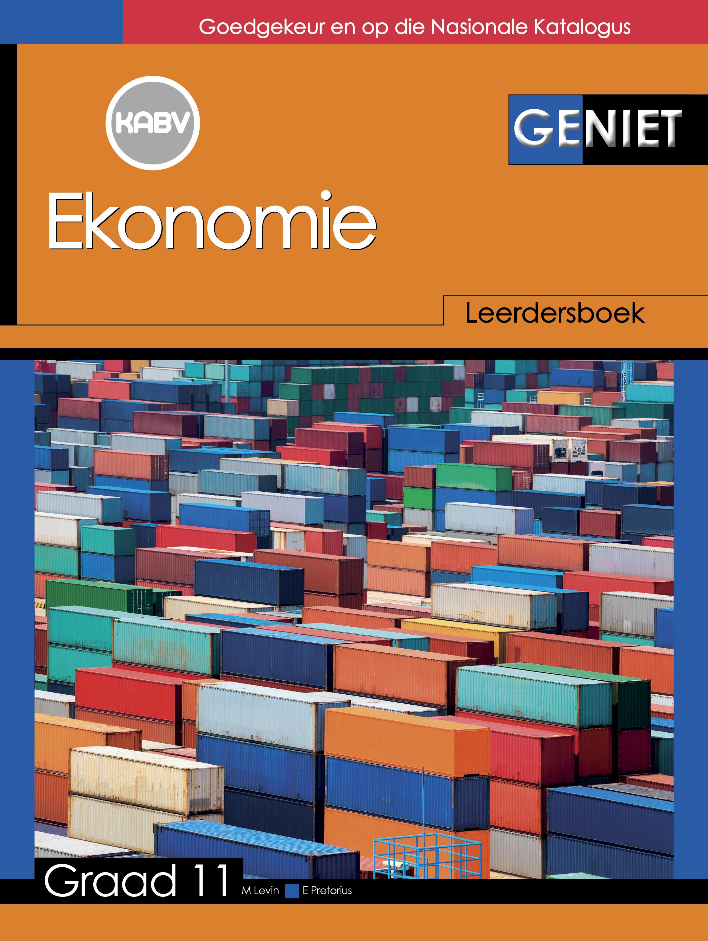 Picture of Geniet Ekonomie: Grade 11: Leerdersboek