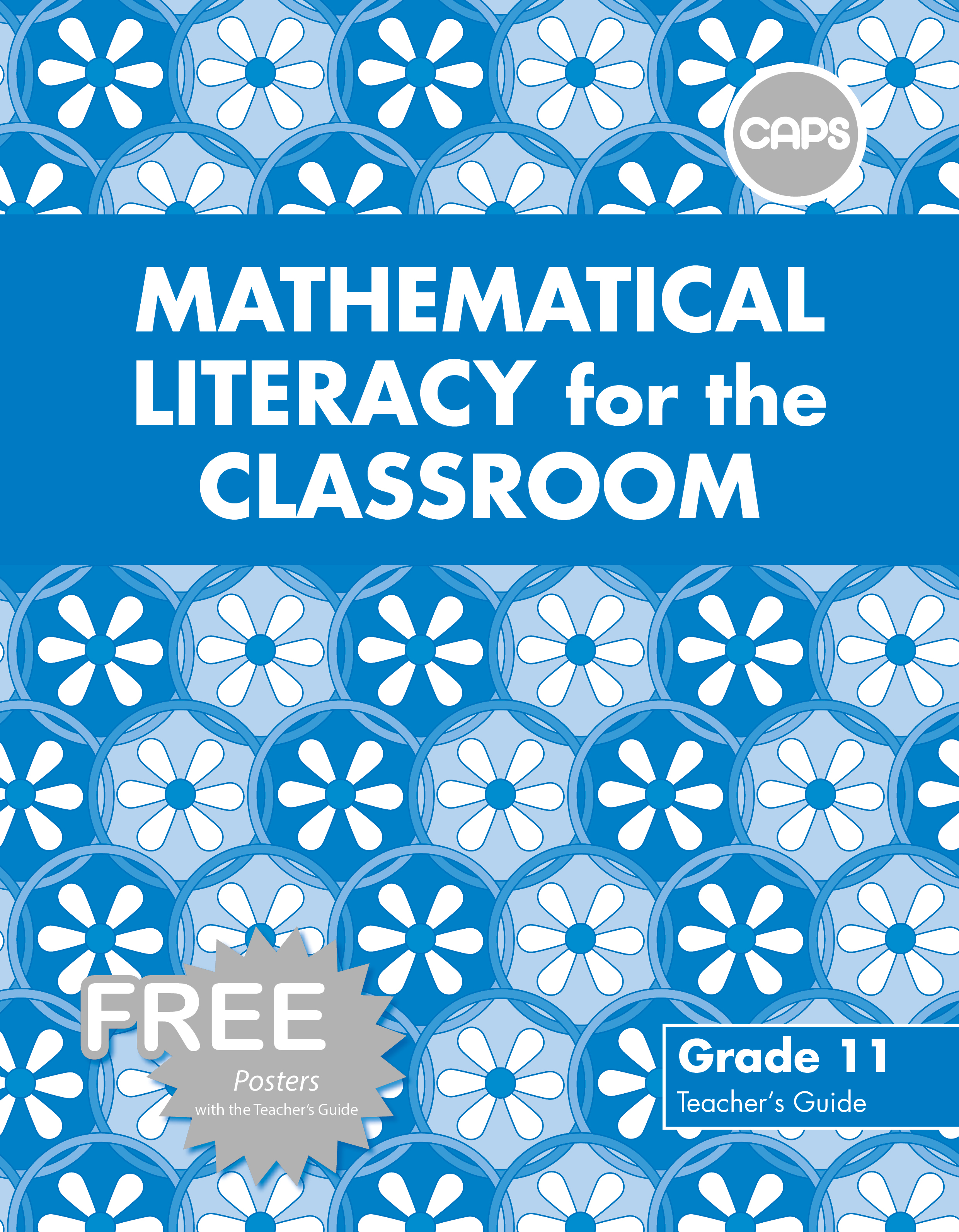 Picture of Mathematical Literacy for the Classroom : Grade 11 : Teacher's Guide (Includes free poster pack)