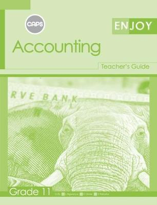 Picture of Enjoy Accounting: Grade 11: Teacher's Guide