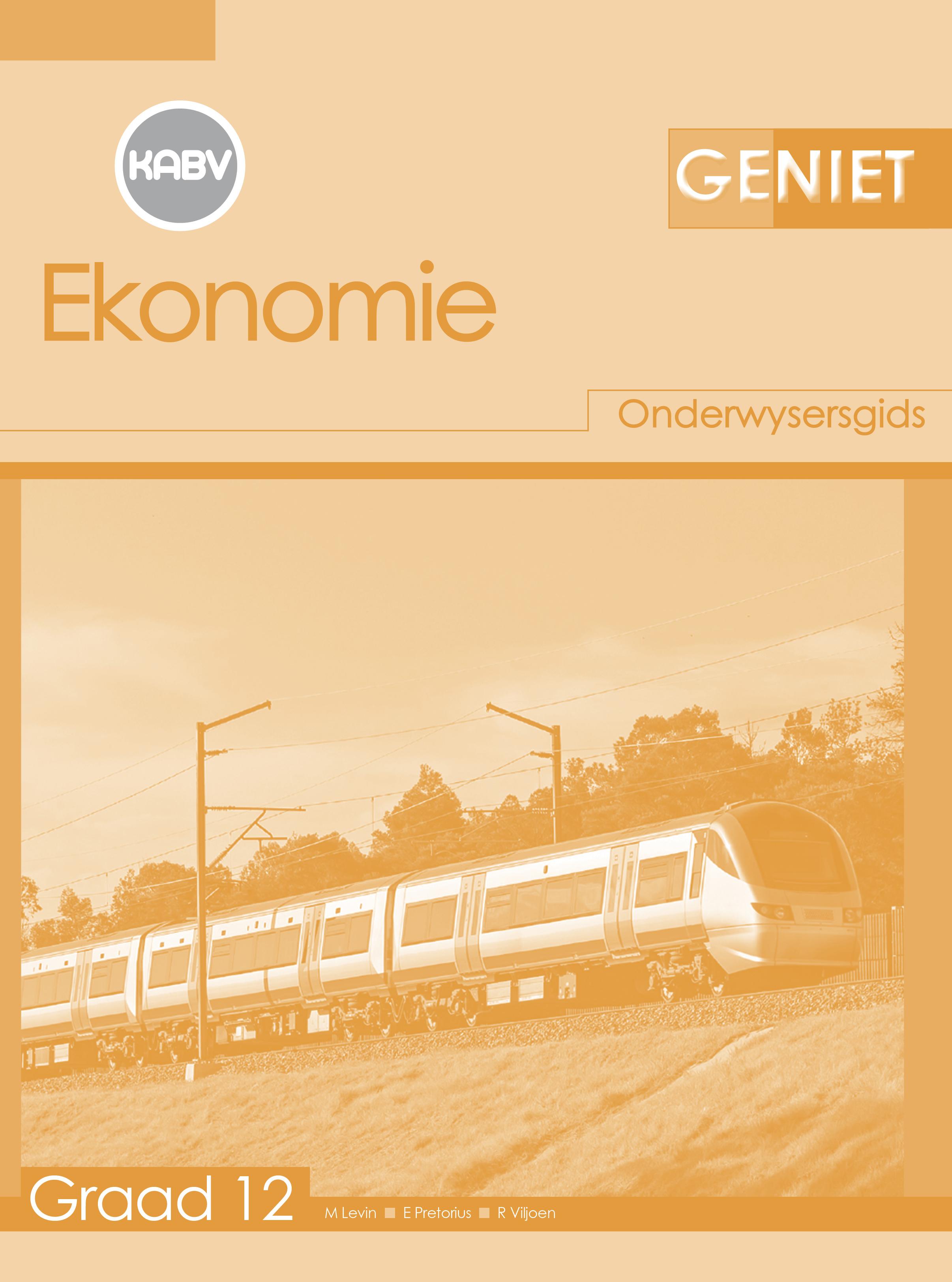 Picture of Geniet Ekonomie: Grade 12: Onderwysersgids