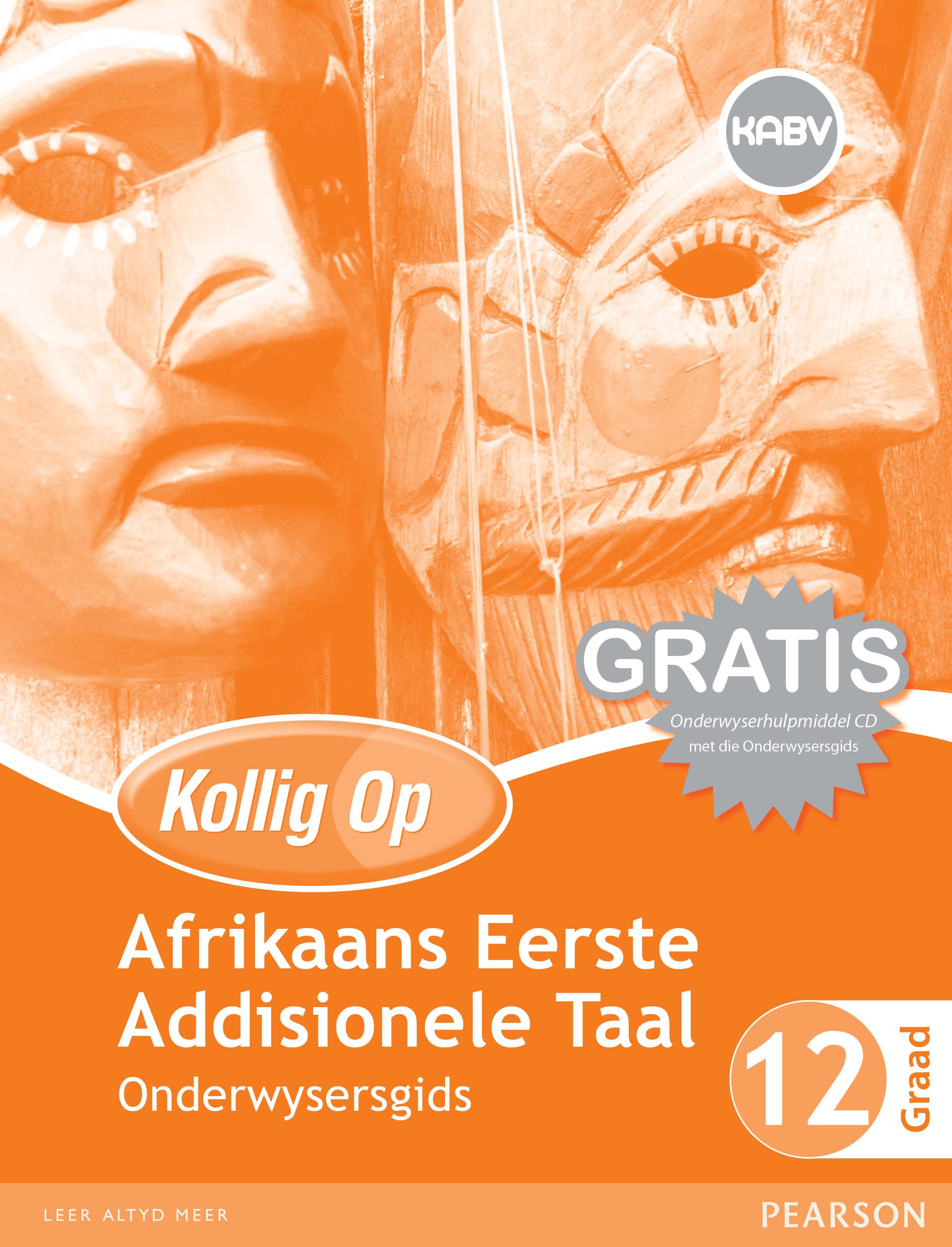Picture of Kollig Op Afrikaans Eerste Addisionele Taal: Graad 12: Ondersysersgids en Gratis Onderwyserhulpmiddel CD