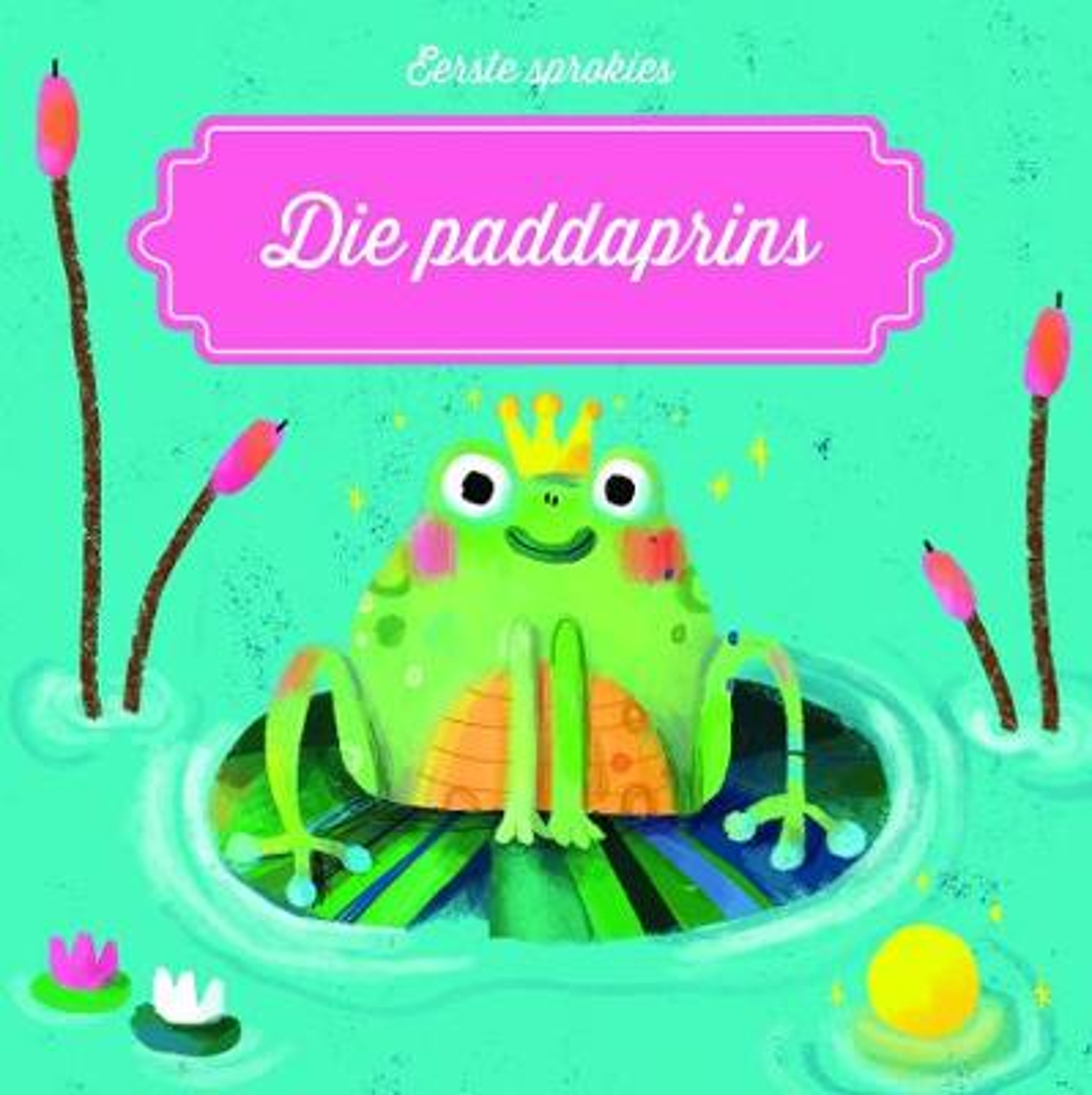 Picture of Eerste sprokies: Die paddaprins