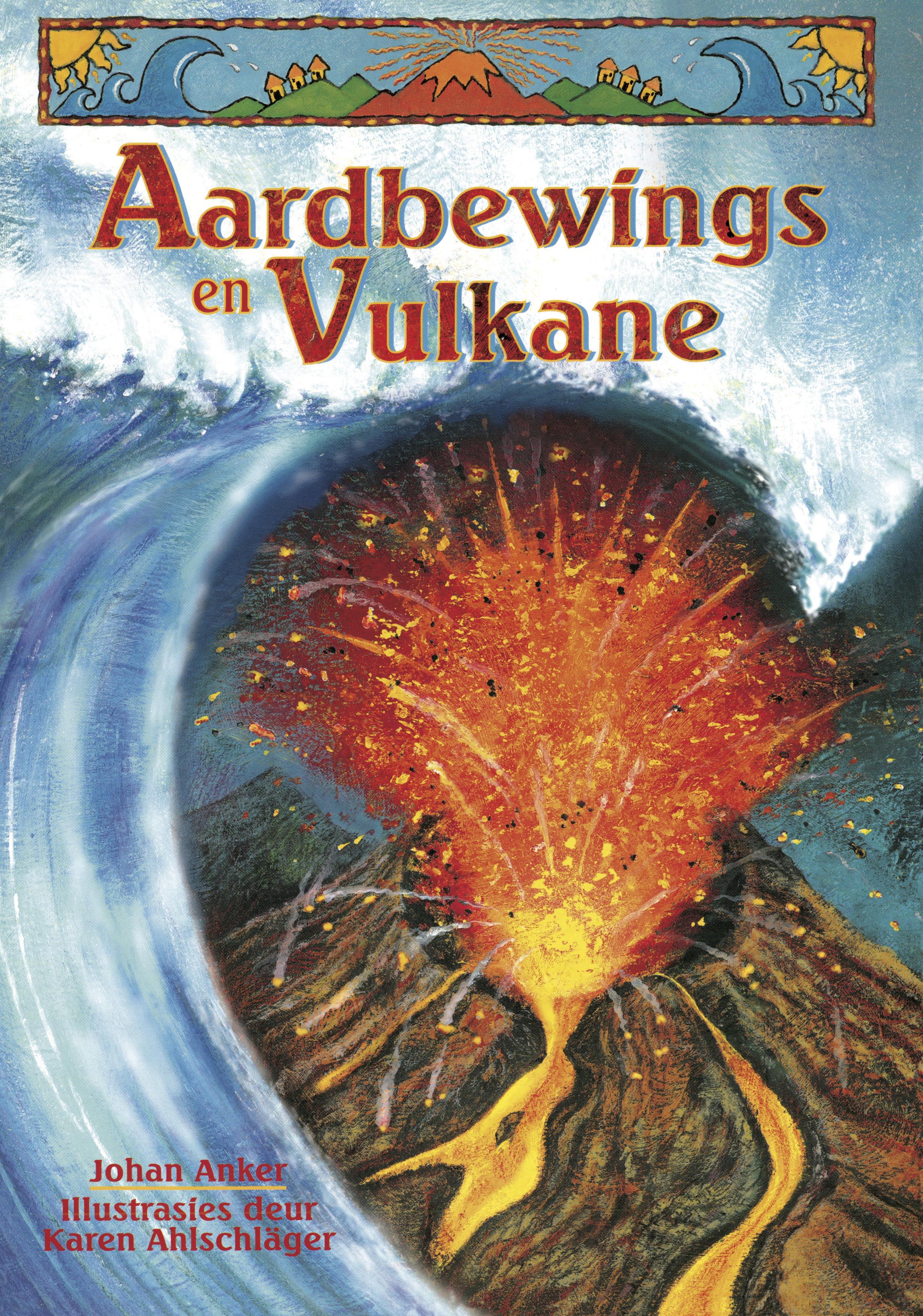Picture of Aardbewings en vulkane