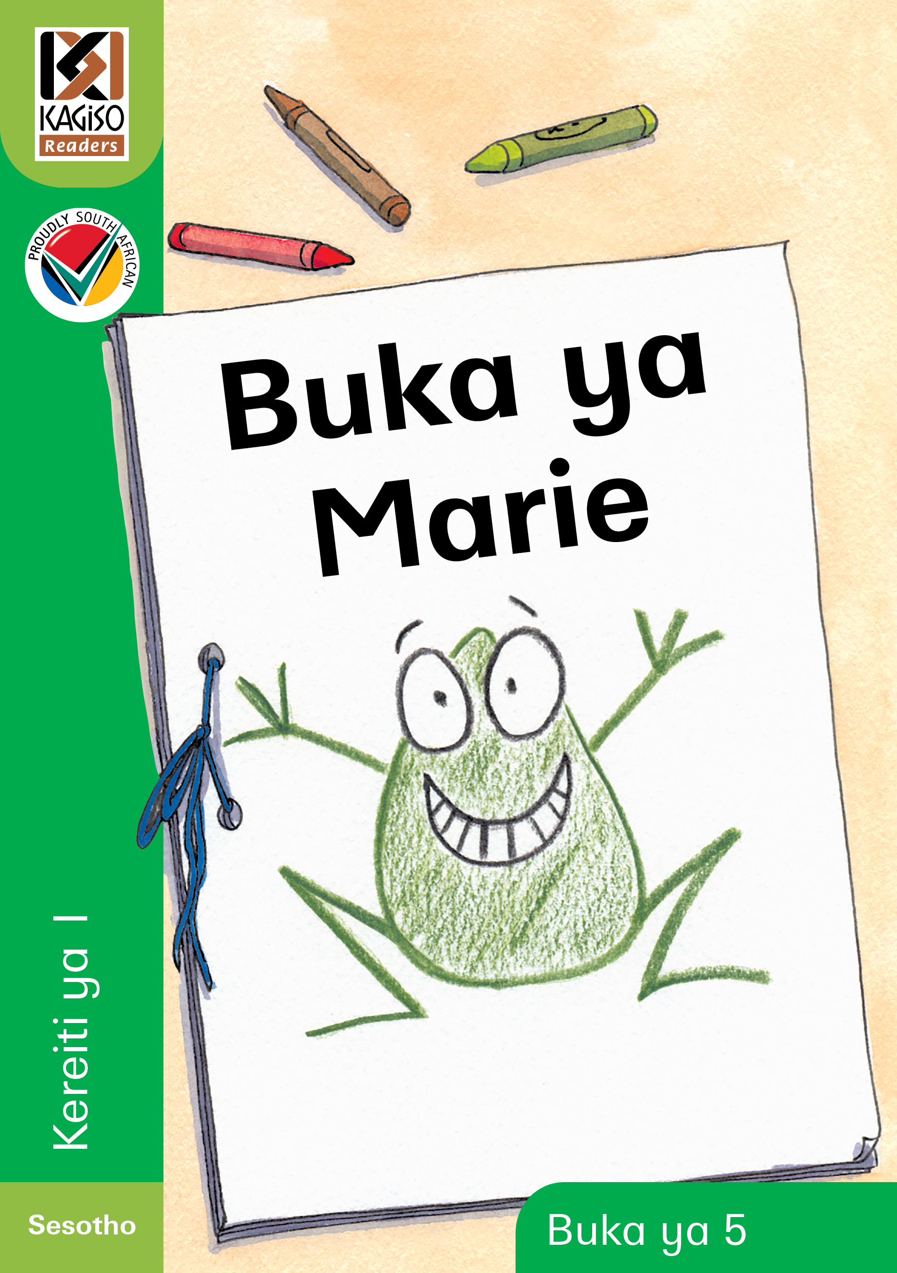 Picture of Kagiso Reader: Buka ya Marie : Kereiti 1 : Book 5