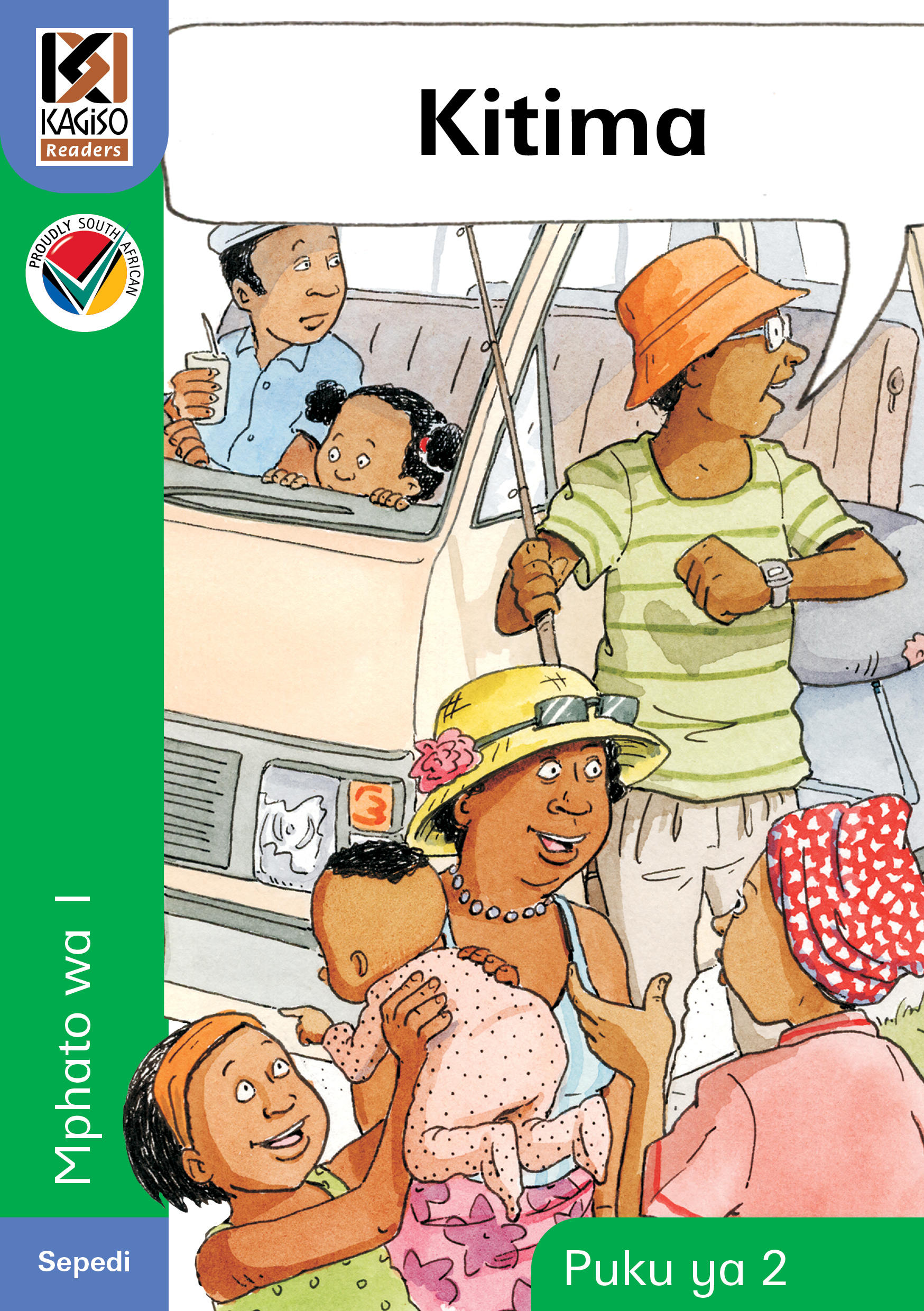 Picture of Kagiso Reader: Kitima (NCS) : Grade 1 : Book 2