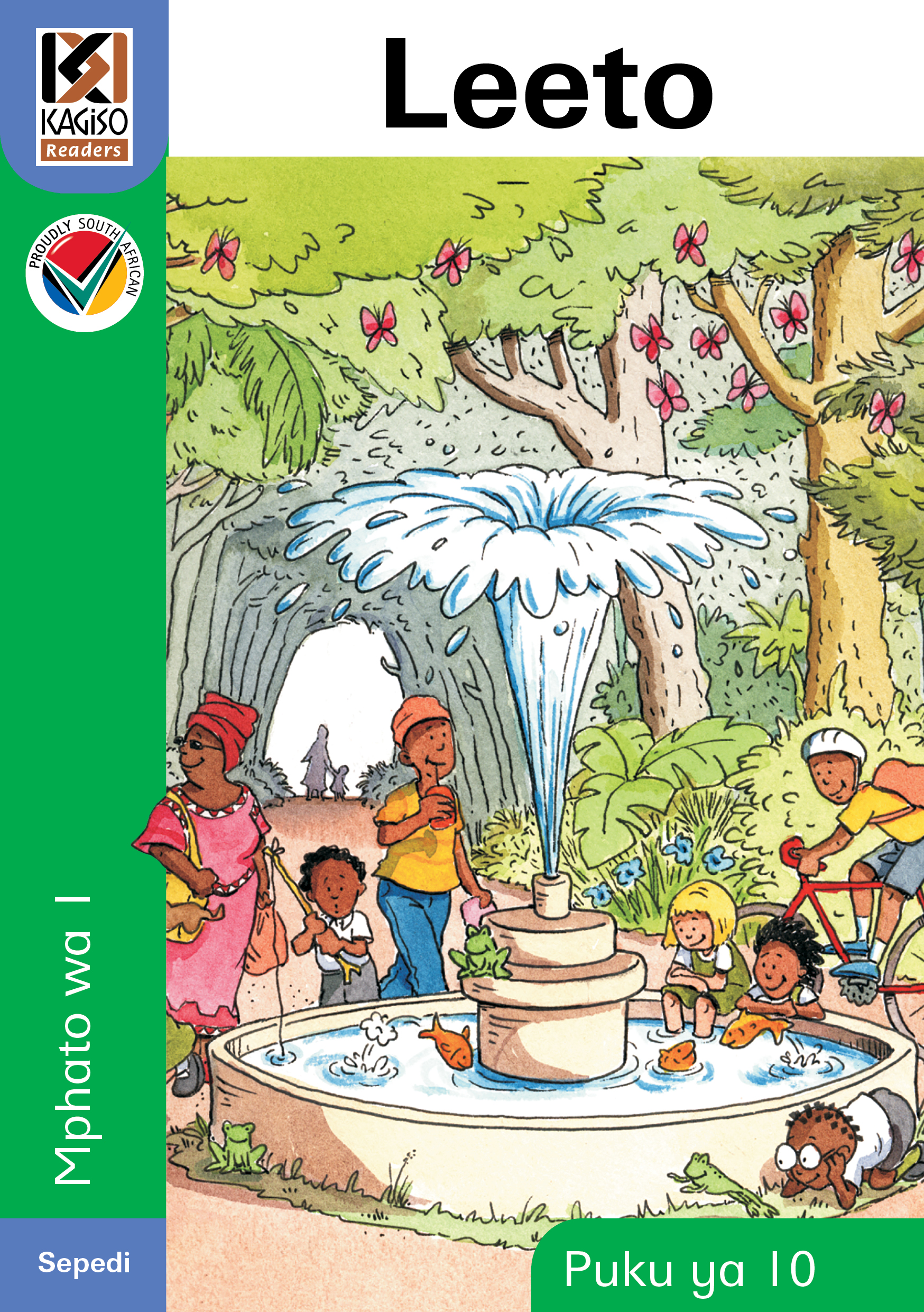 Picture of Kagiso Reader: Leeto (NCS) : Grade 1 : Book 10