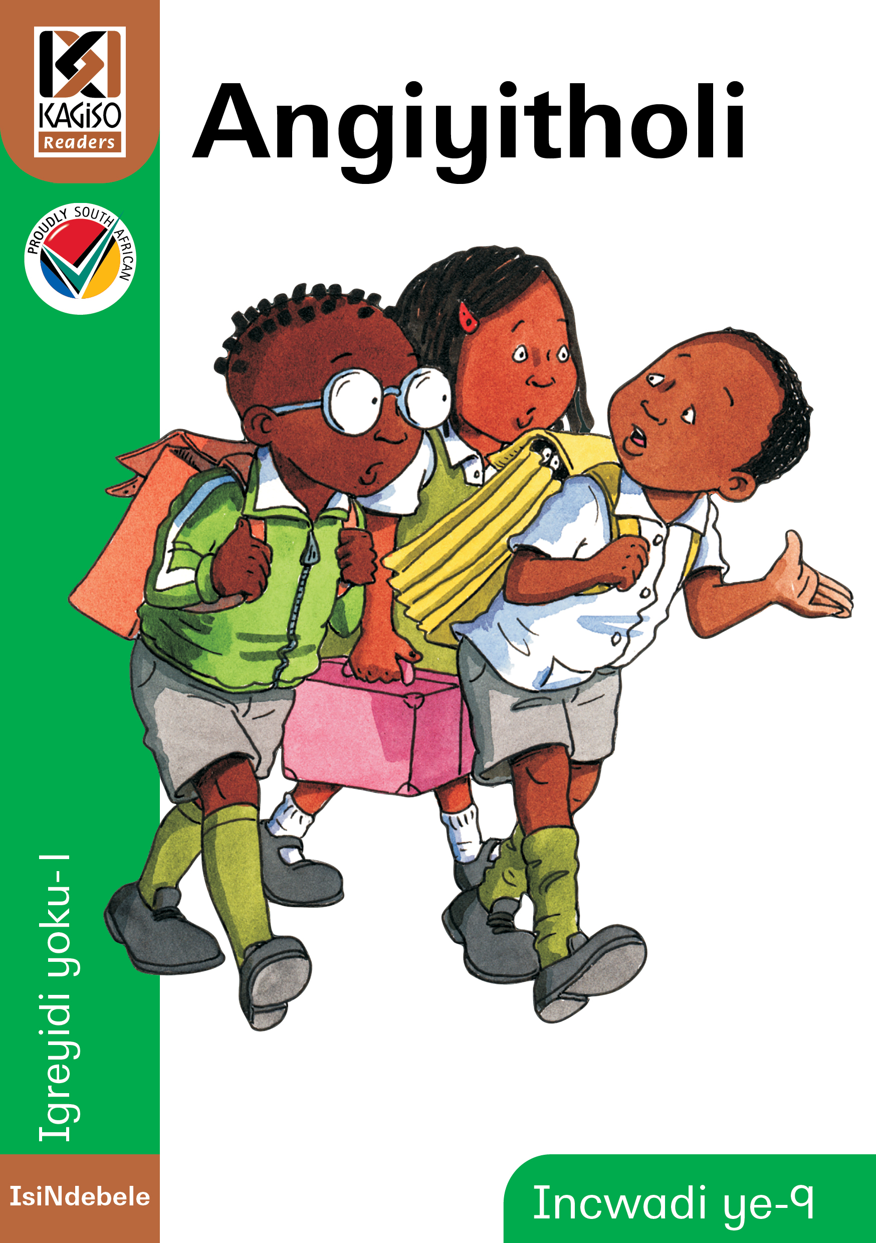 Picture of Kagiso Reader: Angiyitfoli (NCS) : Grade 1 : Book 9