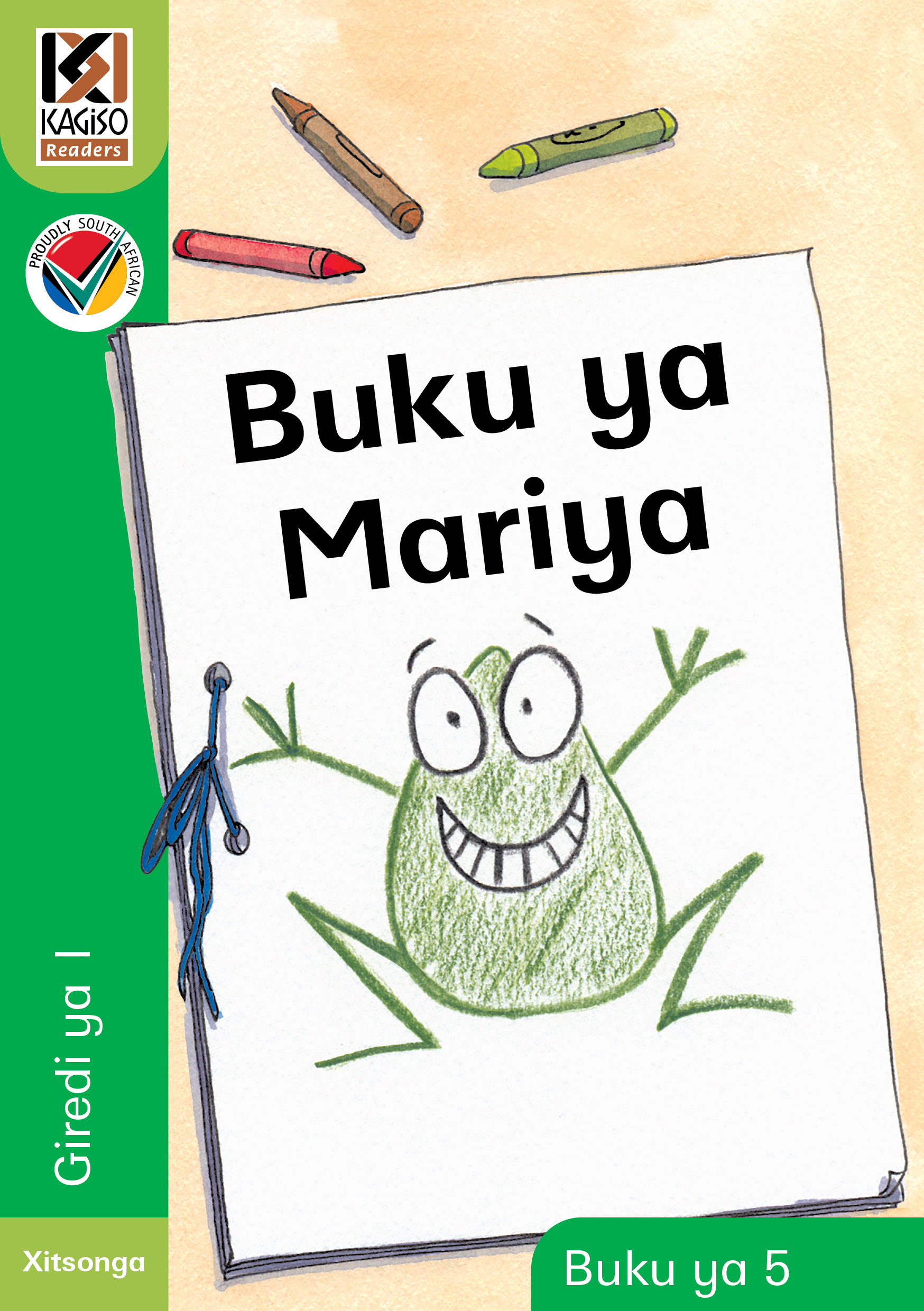 Picture of Kagiso Reader: Buku ya Mariya (NCS) : Grade R : Book 5