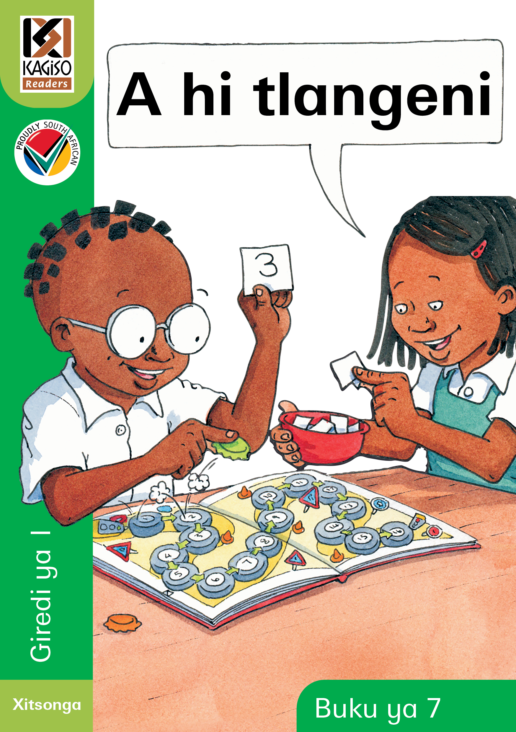 Picture of Kagiso Reader: a hi tlangeni (NCS) : Grade R : Book 7