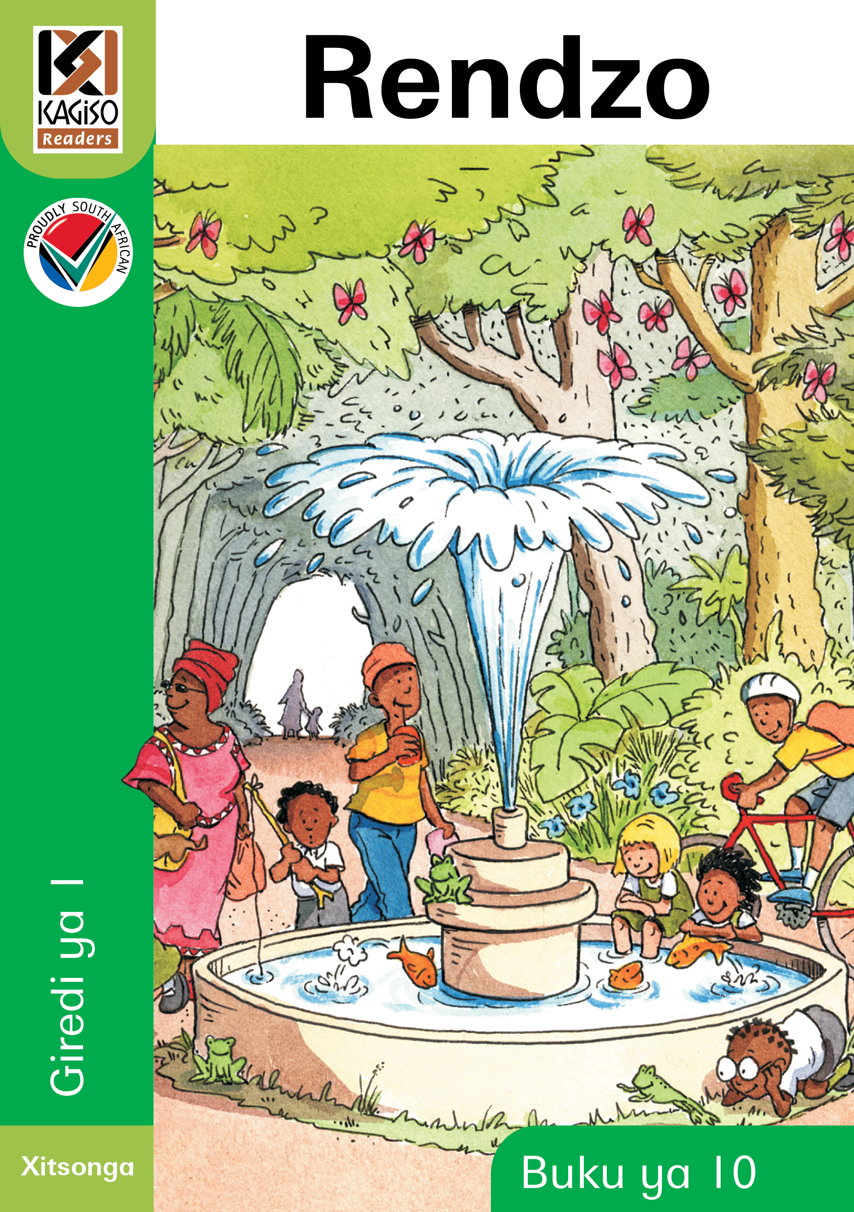Picture of Kagiso Reader: Rendzo (NCS) : Grade 1 : Book 10