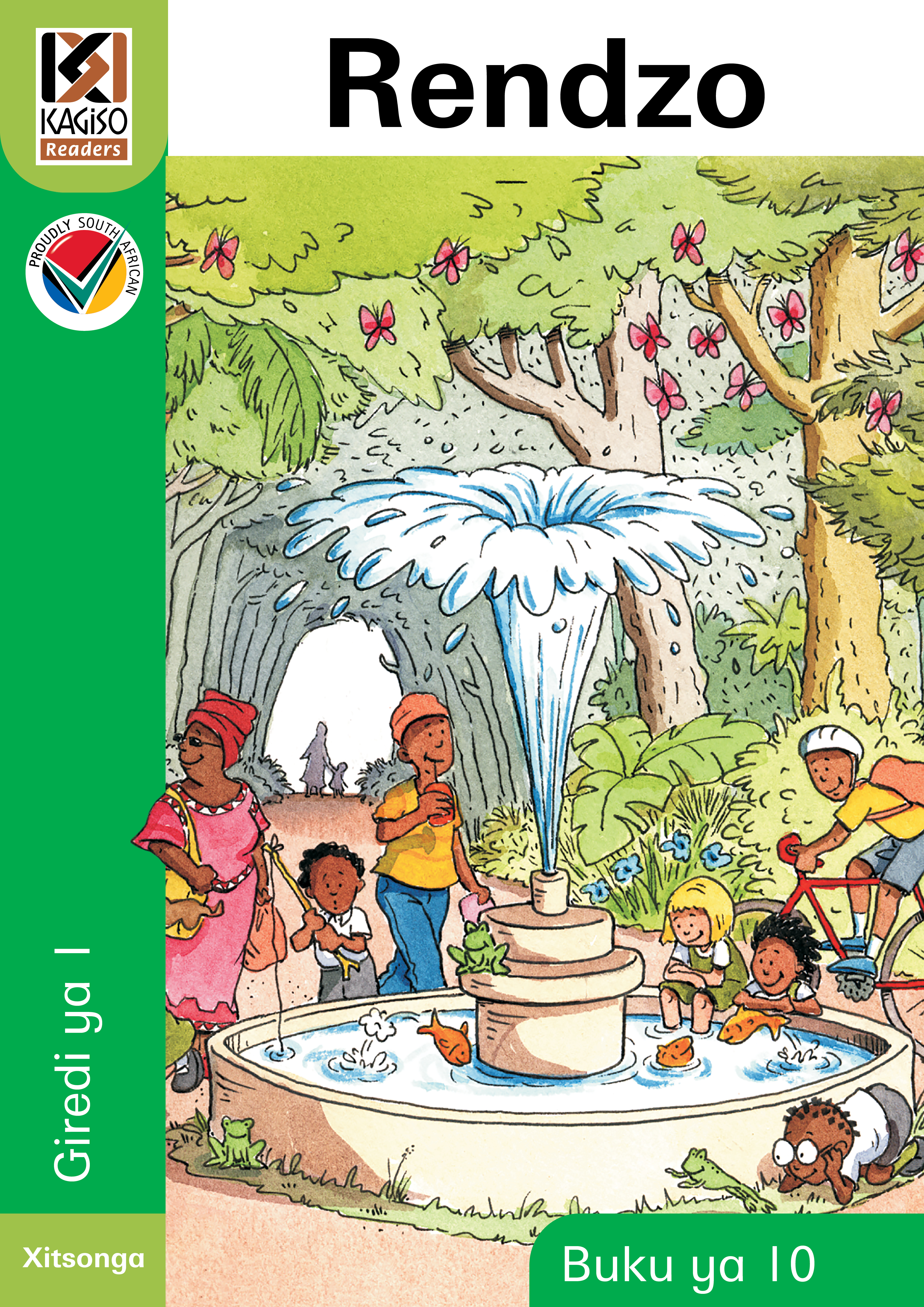 Picture of Kagiso Reader: Rendzo (Big Book) (NCS): Grade 1: Book 10