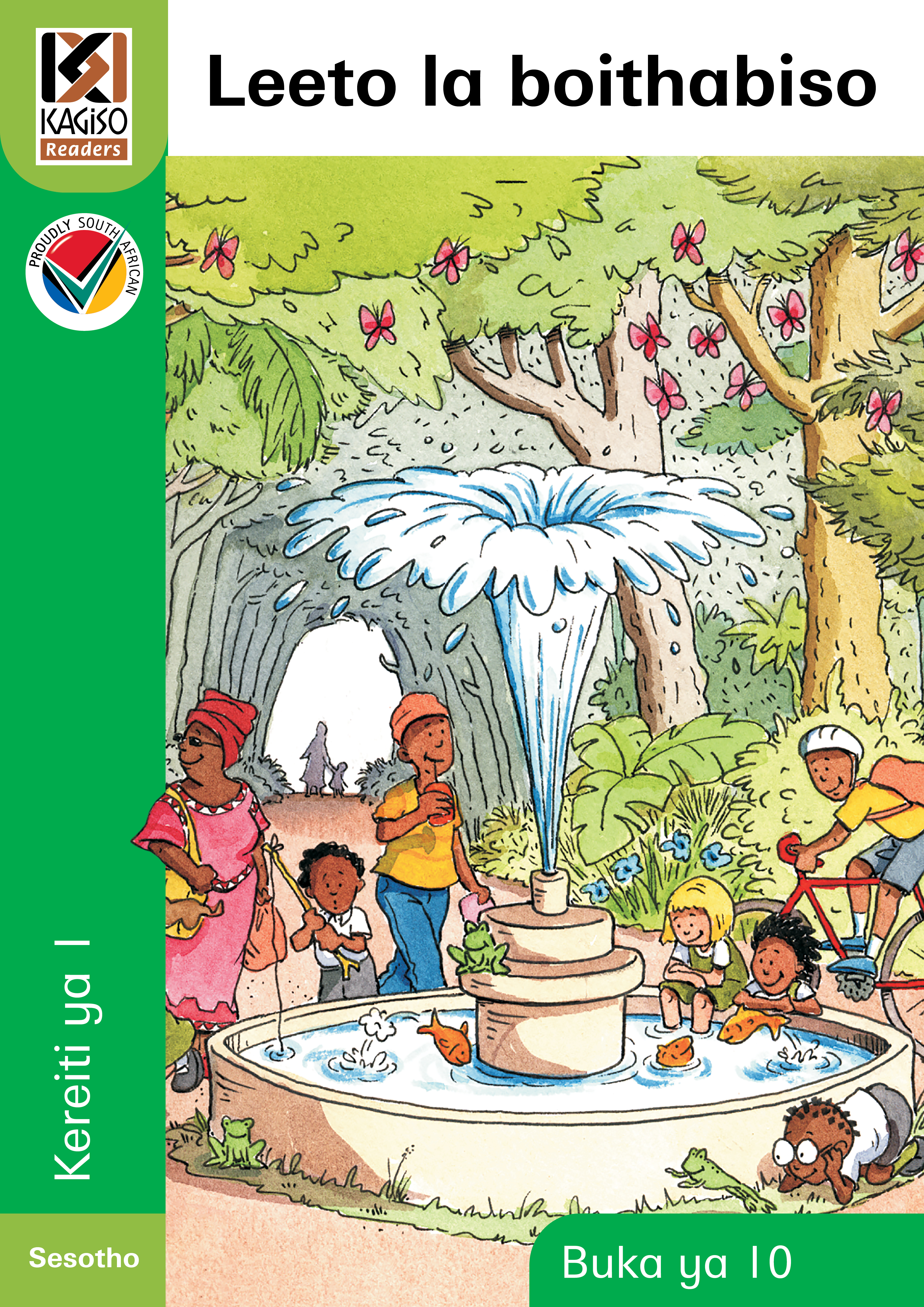 Picture of Kagiso Reader: Leeto la boithabiso (Big Book) (NCS): Grade 1: Book 10