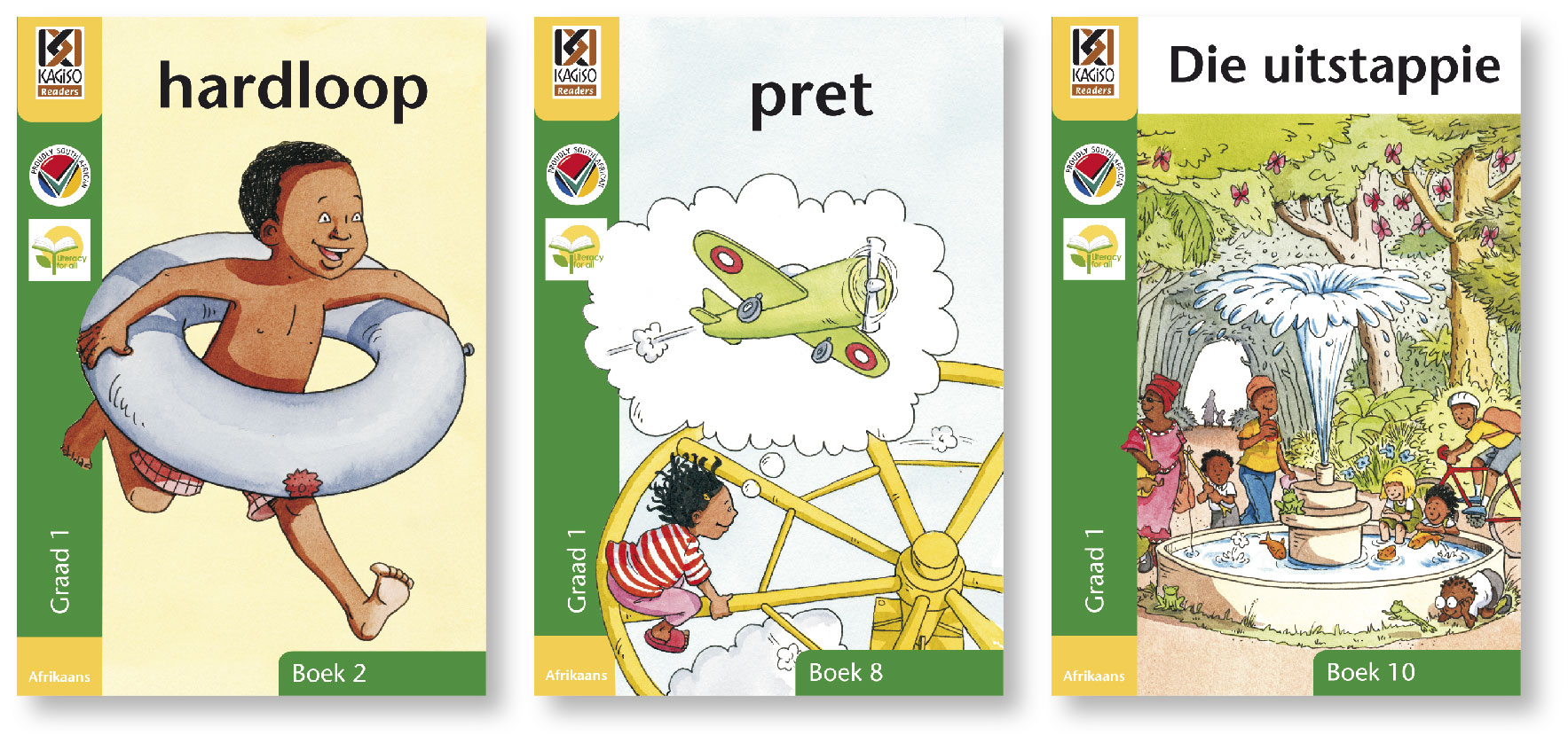 Picture of Kagiso leesboeke: Gr 1: Grootboek pakket : First additional language