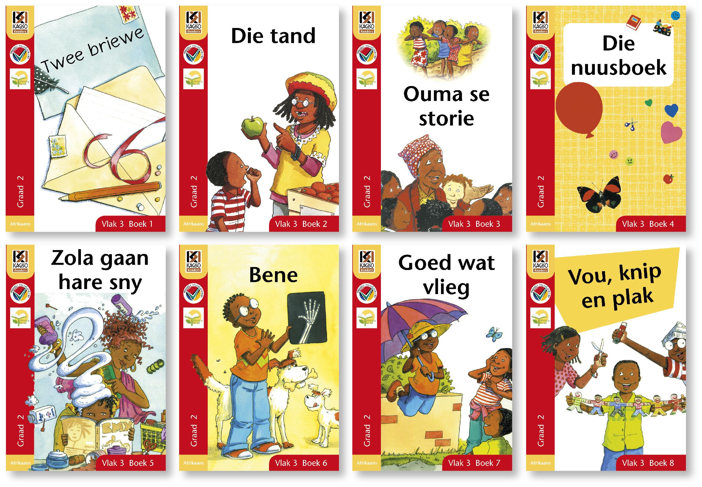 Picture of Kagiso leesboeke: Gr 2: Leesboek pakket : First additional language