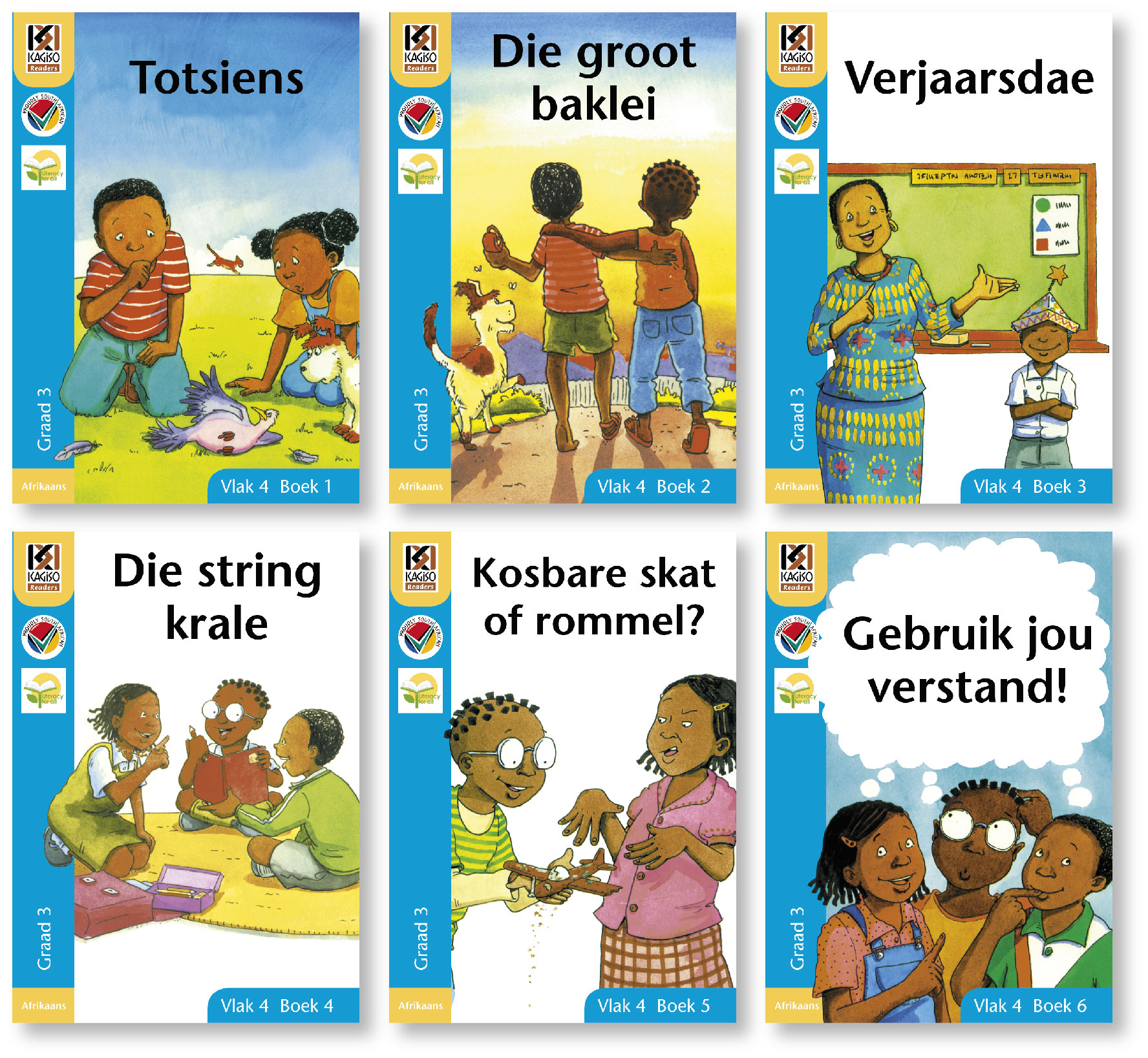 Picture of Kagiso leesboeke: Gr 3: Leesboek pakket : First additional language