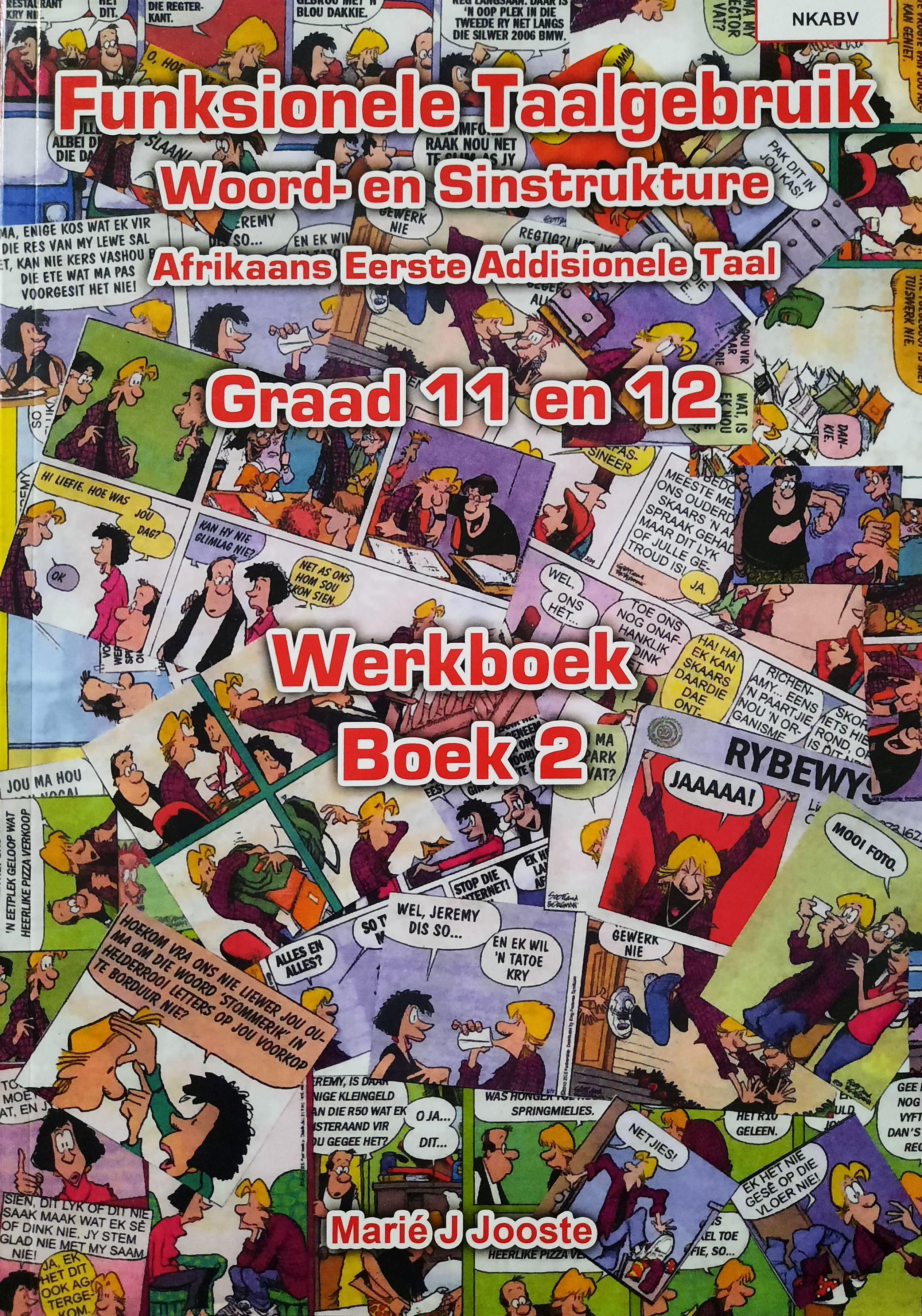 Picture of Funksionele Taalgebruik Boek 2 Graad 11 en 12