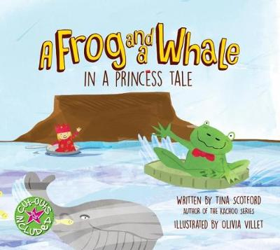 Picture of A frog and a whale in a princess tale