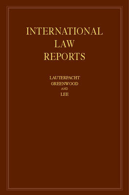 Picture of International Law Reports: Volume 166: Volume 166