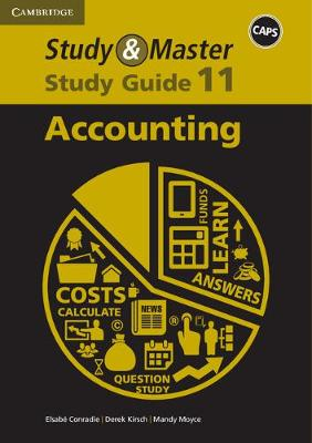 Picture of CAPS Study and Master Study Guides: Study & Master Accounting Study Guide Grade 11