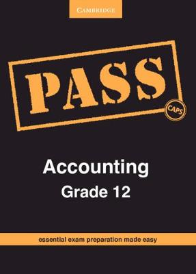 Picture of CAPS PASS Exam Guides: PASS Accounting Grade 12
