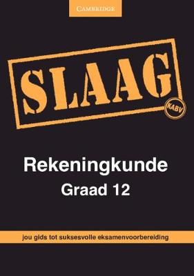 Picture of CAPS PASS Exam Guides: SLAAG Rekeningkunde Graad 12