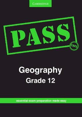 Picture of CAPS PASS Exam Guides: PASS Geography Grade 12
