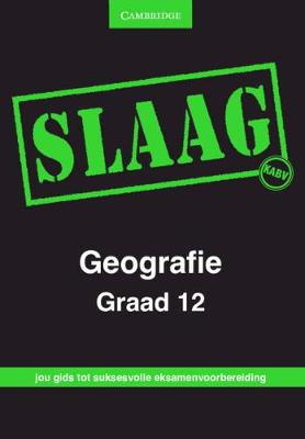 Picture of CAPS PASS Exam Guides: SLAAG Geografie Graad 12