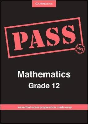 Picture of Pass mathematics: Gr 12: Examination guide