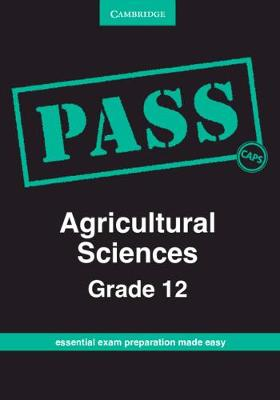 Picture of CAPS PASS Exam Guides: PASS Agricultural Sciences Grade 12