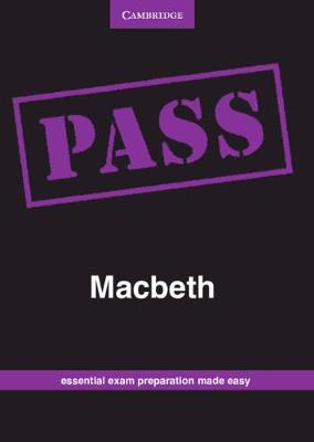 Picture of CAPS PASS Exam Guides: PASS Macbeth