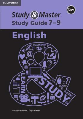 Picture of CAPS Study and Master Study Guides: Study and Master Study Guide English Grade 7-9