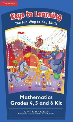 Picture of Keys to Learning Games Mathematics Grades 4 6 Kit