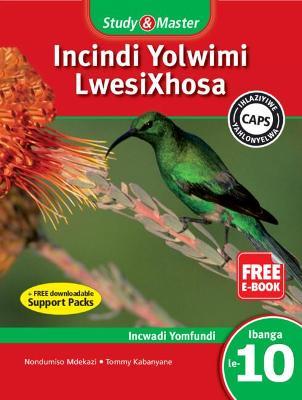 Picture of Study & master incindi yolwimi lwesiXhosa