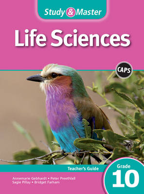 Picture of Study & master life sciences: Gr 10: Teacher's file