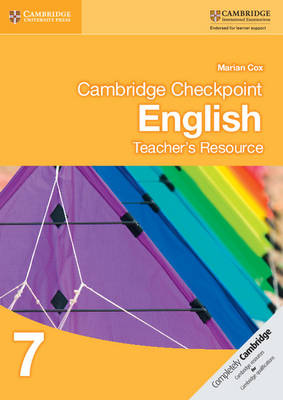 Picture of Cambridge Checkpoint English Teacher's Resource 7