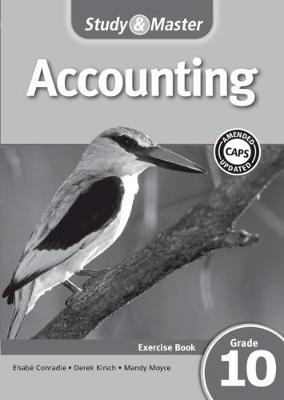 Picture of CAPS Accounting: Study & Master Accounting Workbook Grade 10