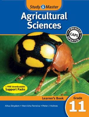 Picture of CAPS Agricultural Sciences: Study & Master Agricultural Sciences Learner's Book Grade 11