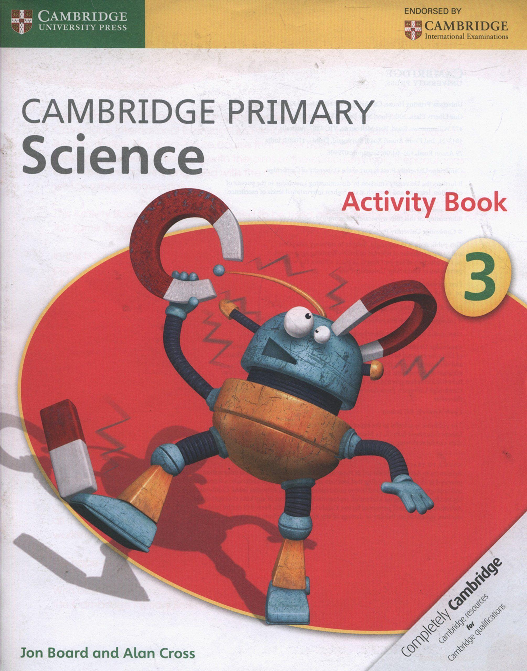 Picture of Cambridge Primary Science: Cambridge Primary Science Stage 3 Activity Book