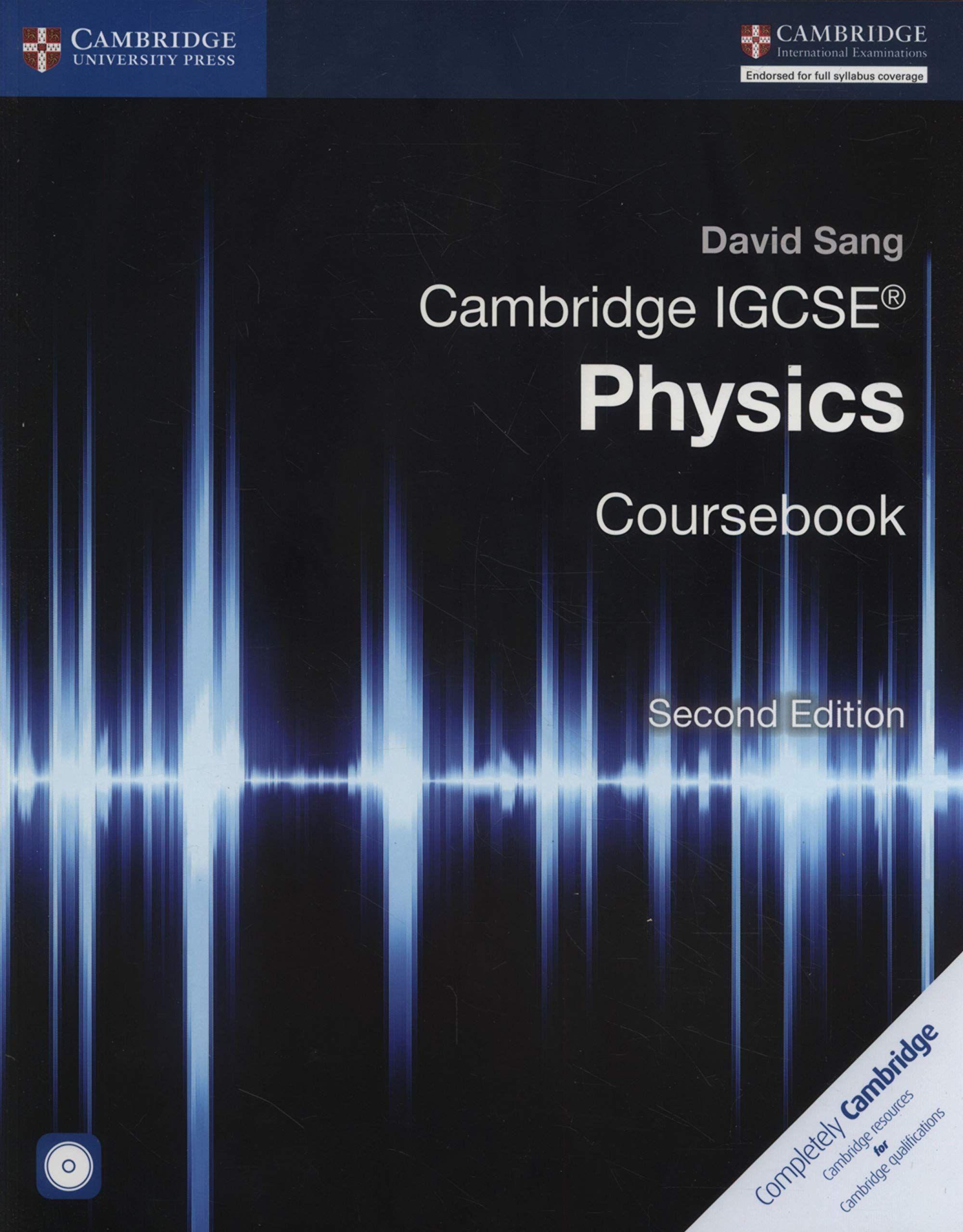 Picture of Cambridge International IGCSE: Cambridge IGCSE (R) Physics Coursebook with CD-ROM