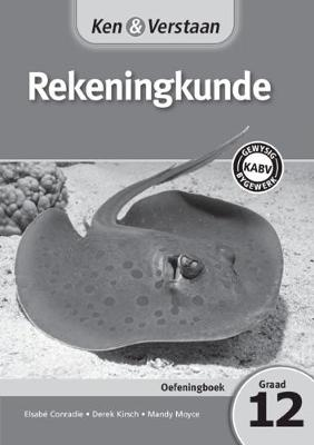 Picture of CAPS Accounting: Ken & Verstaan Rekeningkunde Oefeningboek Graad 12