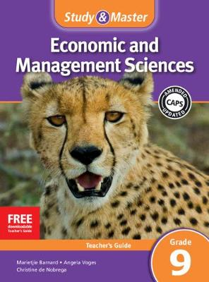 Picture of CAPS Economic and Management Sciences: Study and Master Economic and Business Management Grade 9 for CAPS Teacher's Guide