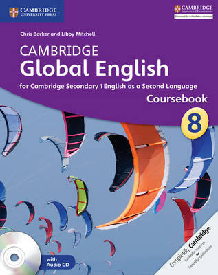Picture of Cambridge Global English Stage 8 Coursebook with Audio CD
