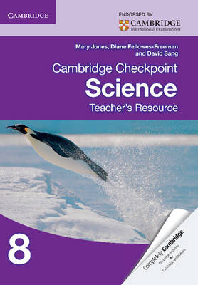 Picture of Cambridge Checkpoint Science Teacher's Resource 8