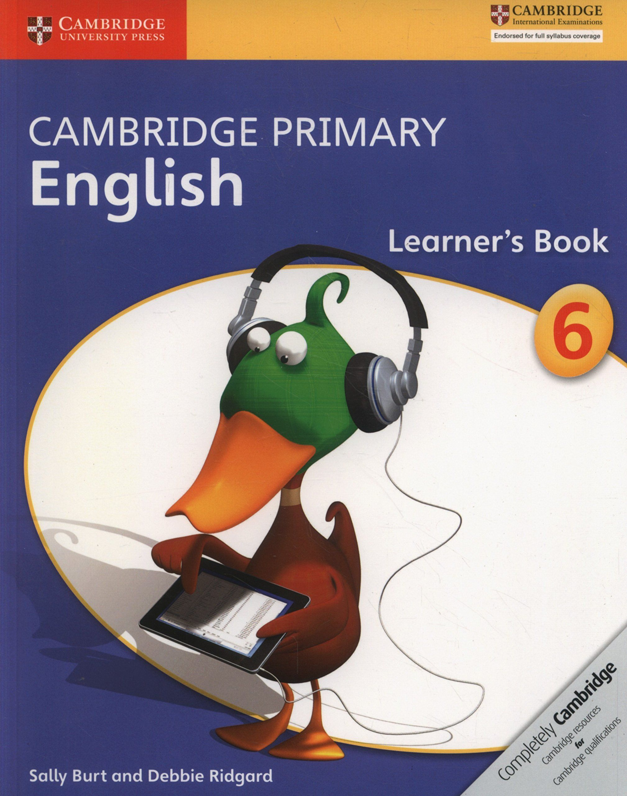 Picture of Cambridge Primary English: Cambridge Primary English Stage 6 Learner's Book
