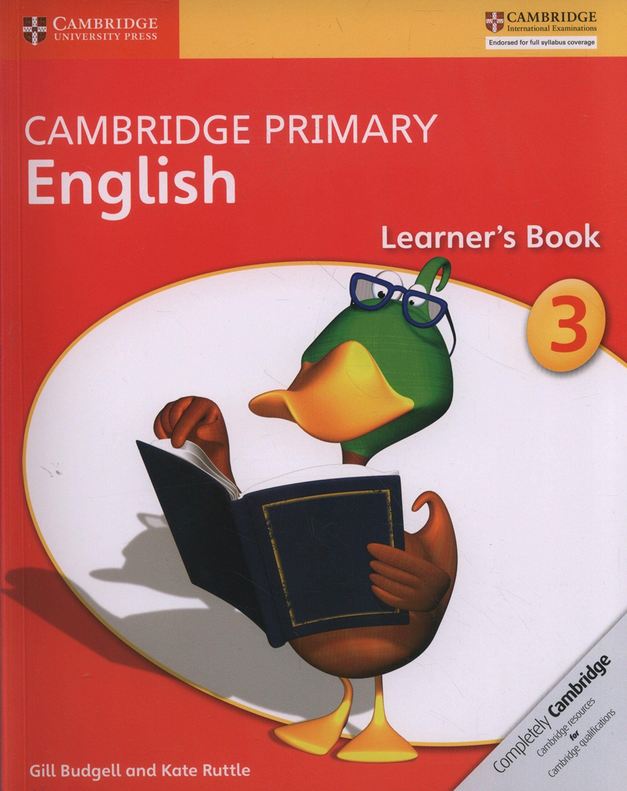 Picture of Cambridge Primary English: Cambridge Primary English Stage 3 Learner's Book