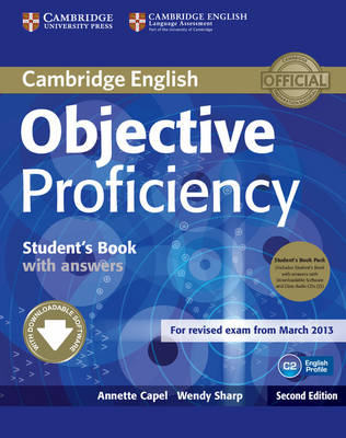Objective: Objective Proficiency Student's Book Pack (Student's Book with Answers with Downloadable Software and Class Audio CDs (2))