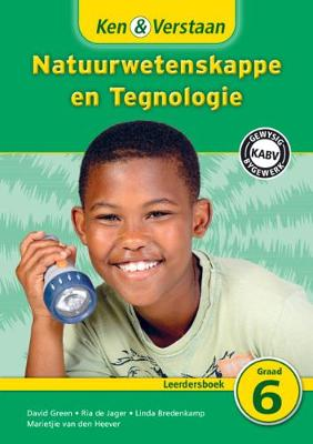 Picture of Study and Master Natural Sciences and Technology Grade 6 CAPS Learner's Book Afrikaans Translation