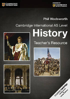 Picture of Cambridge International AS Level History Teacher's Resource CD-ROM